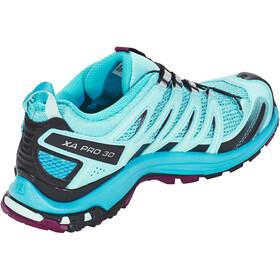 Salomon XA Pro 3D Shoes Women Blue Curacao/Blue Bird/Dark Purple